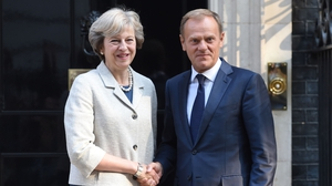 Donald Tusk said the European Council would issue its draft plan for the talks soon after Theresa May triggers Article 50