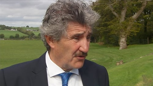 Minister of State John Halligan: 'I was simply trying to put the interviewee at ease.'