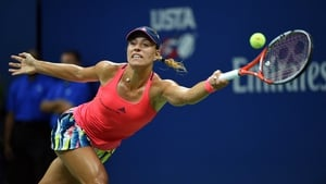 Angelique Kerber revealed that a message of support from Steffi Graf inspired her to US Open glory