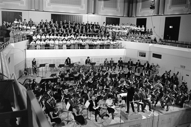 State Opening of National Concert Hall (1981)