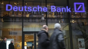 'There are forces now under way in the market that want to weaken confidence in us,' Deutsche Bank's CEO told staff