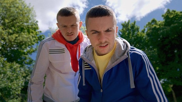 Eyes on the prize - Chris Walley as Jock and Alex Murphy as Conor in The Young Offenders