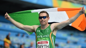 Jason Smyth will look to secure his fourth consecutive 100m gold medal at the Tokyo Games