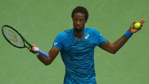 Many were left scratching their head with Gael Monfils' tactics