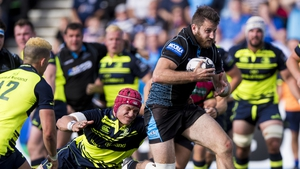 Tommy Seymour scored four tries for the hosts