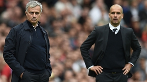 Jose Mourinho and Pep Guardiola go in search of vital league points at the Etihad