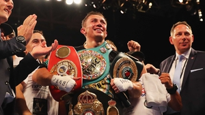 Gennady Golovkin has 36 victories from 36 fights