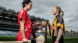Ashling Thompson of Cork and Michelle Quilty of Kilkenny