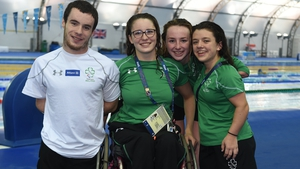 The Irish paralympic swimming team are representing their country on the biggest stage