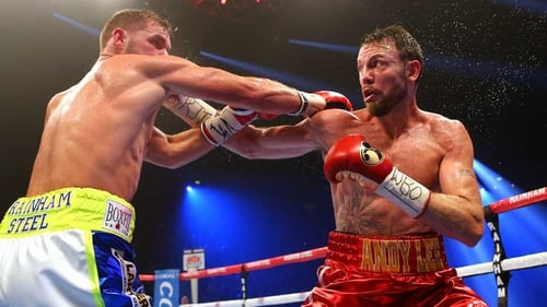 Andy Lee (R) is ready for a return