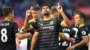 Diego Costa looks set to feature against Hull this weekend