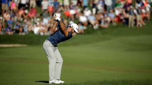 Dustin Johnson moved to the top of the FedEx Cup standings with victory at Crooked Stick