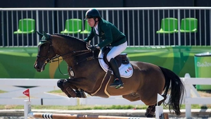 Greg Broderick aboard MHS Going Global at the Rio Olympic Games
