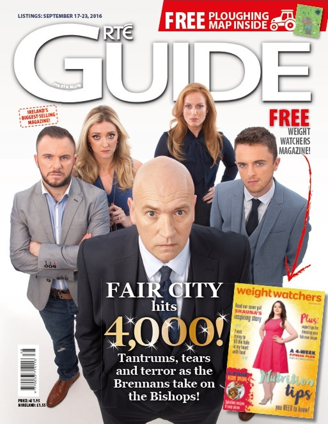 The RTÉ Guide is on sale now!
