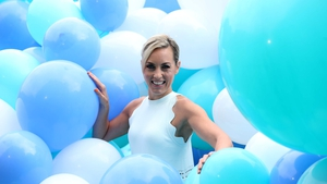 Kathryn Thomas at the Irish Life Health launch today