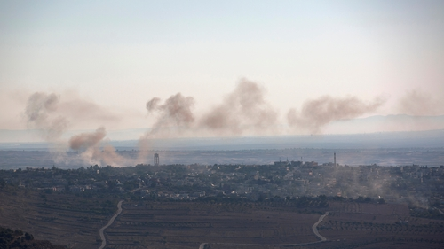 There have been ongoing clashes in the Golan Heights in recent days