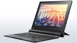 The Lenovo Thinkpad X1 Tablet has a great keyboard bundled with the device