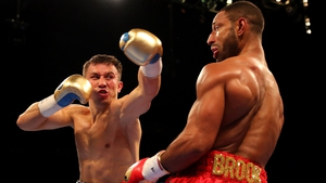 Gennady Golovkin stopped Kell Brook in the fifth round last Saturday