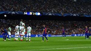 Celtic were heavily beaten in the Champions League by Barcelona