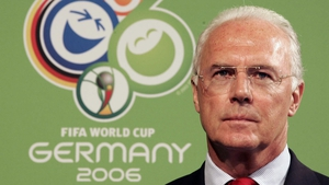 Franz Beckenbuer pictured in 2006
