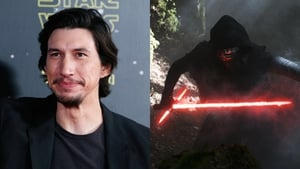 """Driver (left) and as alter ego Kylo Ren - """"It's similar to howThe Empire Strikes Backhas a different tone"""""""