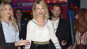 Taylor Swift is said to be unfazed following her split from Tom Hiddleston