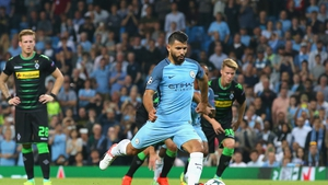 Sergio Aguero remains very much in Pep Guardiola's plans