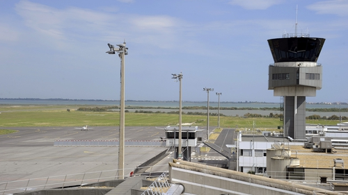 Air traffic controllers in France taking part in general strike by public sector staff