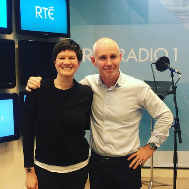 Shannon Yee and Ray D'Arcy