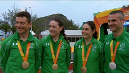 Paralympics 2016 Extras: Team Ireland Cycling Interview
