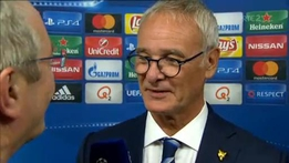 UEFA Champions League: Claudio Ranieri and Jamie Vardy