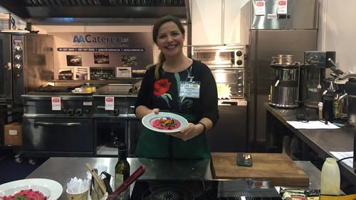 Catherine Fulvio shares some healthy eating tips and talks Lords & Ladles