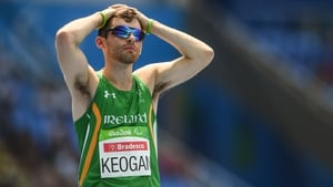 Paul Keogan: 'I woke up with my left side completely numb, my face, my leg. I was in a wheelchair for a while. That's just the way it goes.'