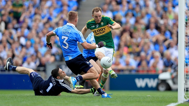 Darran O'Sullivan punishes Stephen Cluxton's poor kick-out in the semi-final