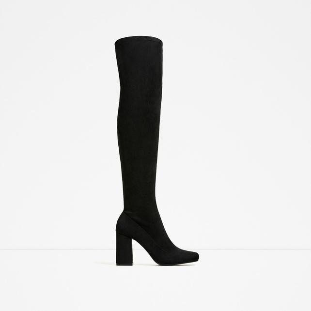 Strech Leg High Heel Boots, € 59.95