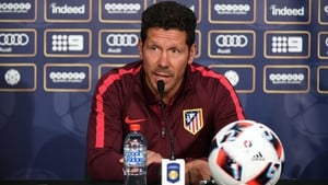 Diego Simeone signed a five-year extension in 2015