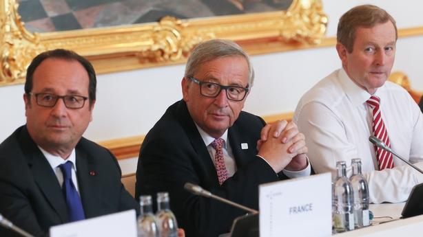 Hollande, Juncker, Kenny