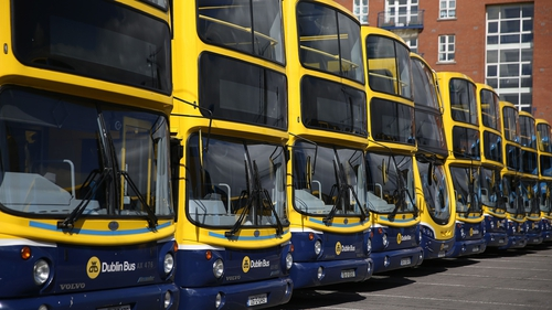 Dublin Bus services are due to resume on Sunday