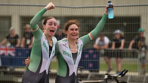 Katie-George Dunlevy and Eve McCrystal are looking to add to their time trial gold
