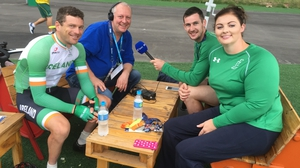 Michael McKillop, Orla Barry and Eoghan Clifford all claimed medals