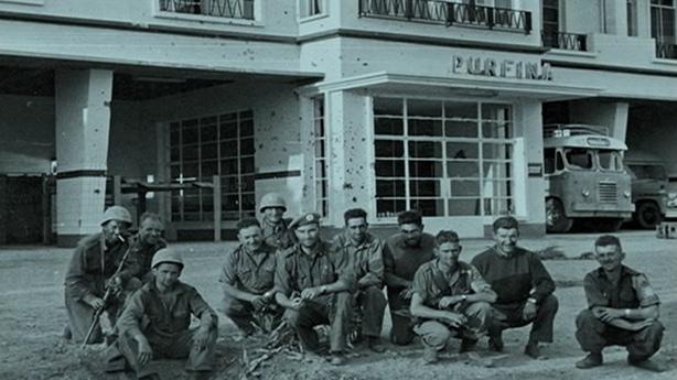 Jadotville soldiers