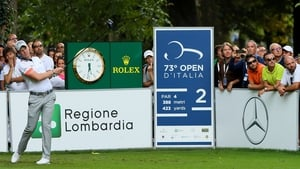 Danny Willett is one off the lead at the Italian Open