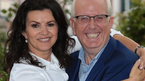 Deirdre O'Kane and Rory Cowan speed things along with clever patter on Gogglebox Ireland.