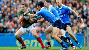 Mayo fought back to level the game in the final minute of added time