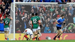 Mayo's Colm Boyle scored an own goal for Dublin