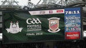 Dublin and Mayo played out the first All-Ireland football final draw since 2000