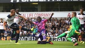 Harry Kane scores for Tottenham against Sunderland earlier this season