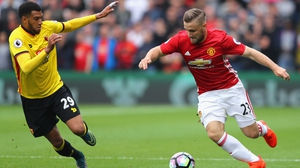 Luke Shaw has come in for criticism from Jose Mourinho