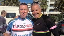 He did it last year. And for some reason unknown to himself, he's doing it again this year. RTÉ radio presenter Shay Byrne is cycling from Paris to Nice, all in aid of the Irish Youth Foundation.