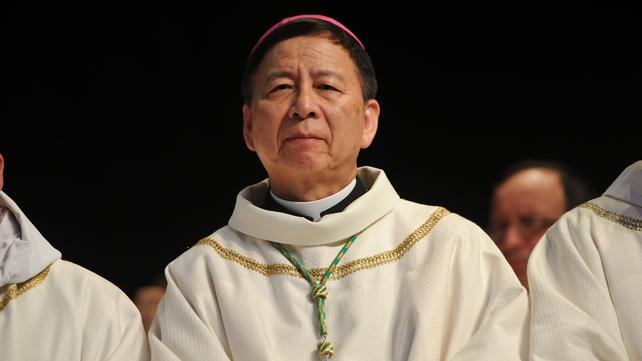 Archbishop Savio Hon Tai-Fai was sent to Guam to investigate the accusations against Archbishop Apuron